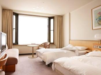 【南館】スーペリアツインルーム 喫煙可|24㎡|万座プリンスホテル