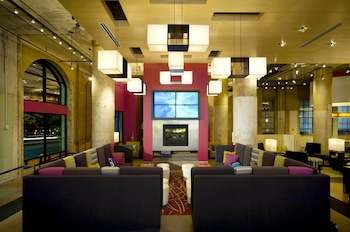 Lobby at Aloft Dallas Downtown in Dallas