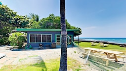 Idyllic 1br Oceanfront 1 Bedroom Cottage