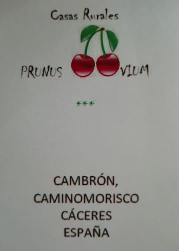 . Casas Rurales Prunus Avium