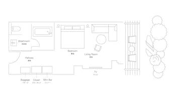 THE THOUSAND KYOTO Floor plan