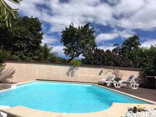 Villa With 2 Bedrooms in Saint Joseph Vincendo, With Private Pool, Enc, Saint-Denis