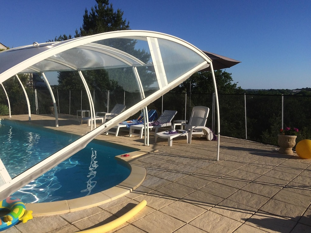Apartment With 2 Bedrooms in Muzillac, With Private Pool, Enclosed Garden and Wifi - 3 km From the B