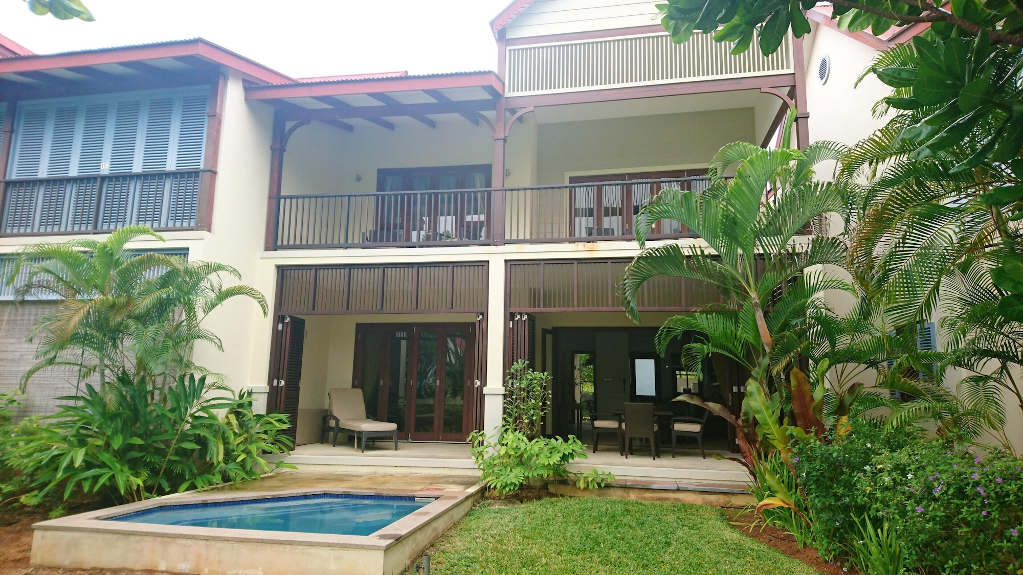 House With 3 Bedrooms in Mahé, With Wonderful sea View, Private Pool a,