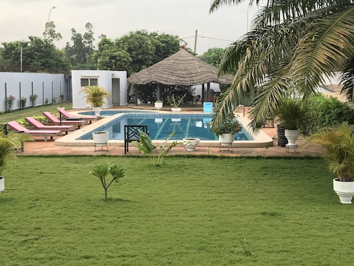 Apartment With 2 Bedrooms in Lomé, With Pool Access, Enclosed Garden a, Golfe (incl Lomé)
