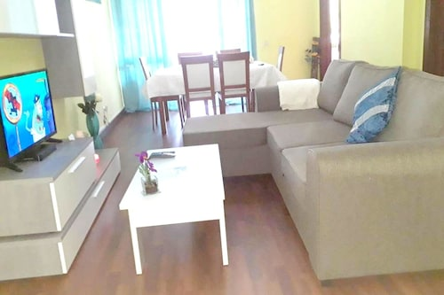 Apartment With one Bedroom in Caniço, With Wonderful sea View, Furnish, Santa Cruz