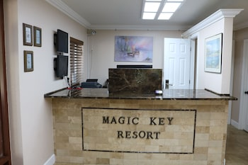 Check-in/Check-out Kiosk at Magic Key Resort in Kissimmee