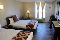 Basic Twin Room, 2 Double Beds, Non Smoking 2nd Floor