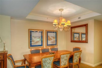 In-Room Dining at Royale Palms 607 in Myrtle Beach