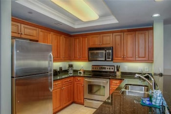In-Room Kitchen at Royale Palms 607 in Myrtle Beach