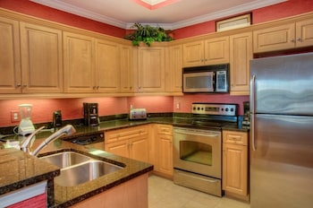 In-Room Kitchen at Royale Palms 704 in Myrtle Beach