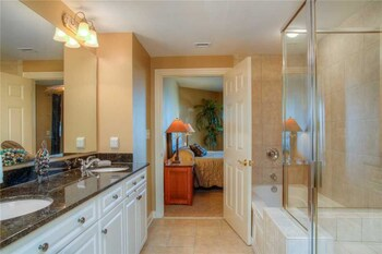 Bathroom at Royale Palms 1705 in Myrtle Beach