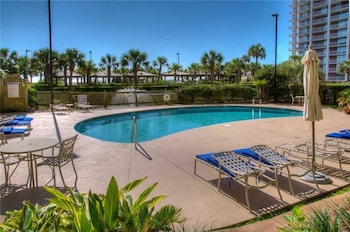 Outdoor Pool at Royale Palms 1705 in Myrtle Beach