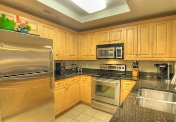 In-Room Kitchen at Royale Palms 207 in Myrtle Beach