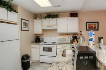 In-Room Kitchen at River Oaks Fairways 27-E in Myrtle Beach