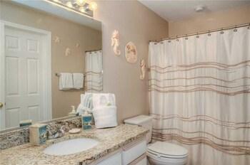 Bathroom at River Oaks Fairways 27-E in Myrtle Beach