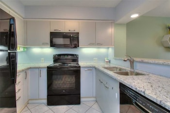 In-Room Kitchen at Laurel Court 301 in Myrtle Beach