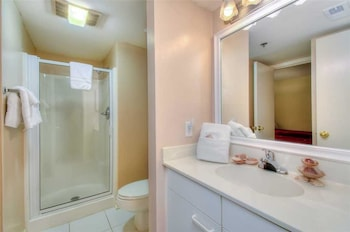 Bathroom at Laurel Court 301 in Myrtle Beach