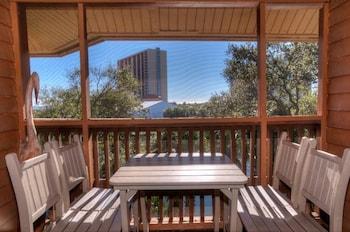 Terrace/Patio at Laurel Court 307 in Myrtle Beach