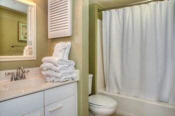 Bathroom at Laurel Court 307 in Myrtle Beach