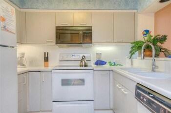 In-Room Kitchen at Laurel Court 204 in Myrtle Beach