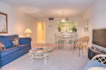 Living Area at Laurel Court 204 in Myrtle Beach