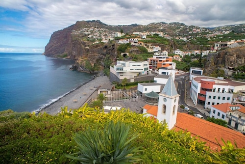 Apartment With 2 Bedrooms in Câmara de Lobos, With Wonderful sea View,, Câmara de Lobos