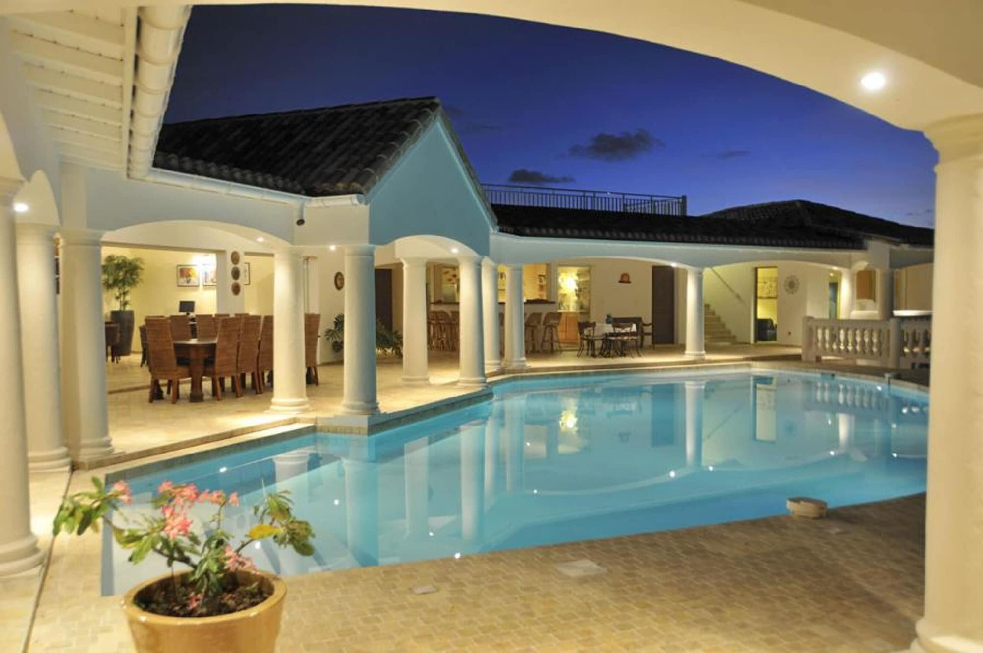 Villa With 4 Bedrooms in Saint Martin, With Wonderful sea View, Privat,