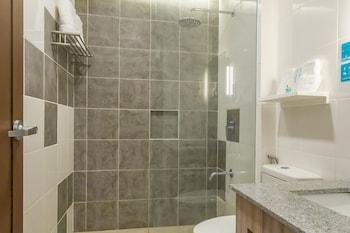 MICROTEL INN & SUITES BY WYNDHAM SAN FERNANDO Bathroom