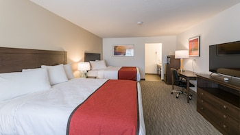 Comfort Double Room, 2 Queen Beds, Non Smoking
