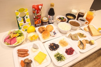 HOTEL KURETAKESOU HIROSHIMA OTEMACHI Breakfast Meal