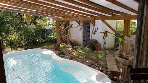 Apartment With one Bedroom in Le Lamentin, With Pool Access, Enclosed, Le Lamentin