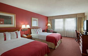 Room, 2 Double Beds, Executive, Non Smoking