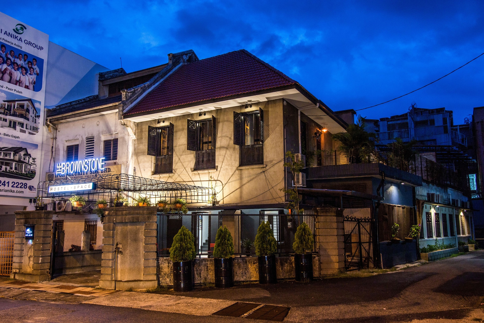 The Brownstone Hostel & Space, Kinta