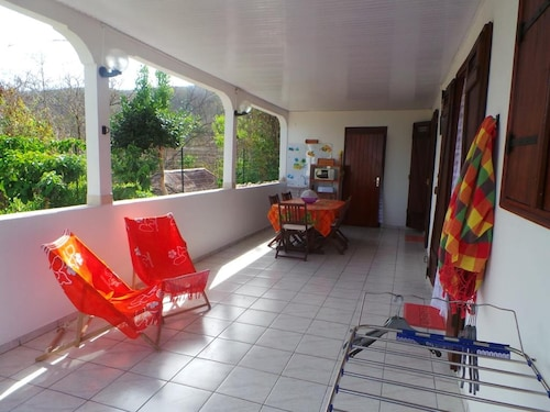 House With 2 Bedrooms in Bouillante, With Wonderful sea View, Enclosed, Bouillante