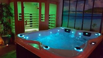 Romantic Tek Büyük Yataklı Oda, Sauna