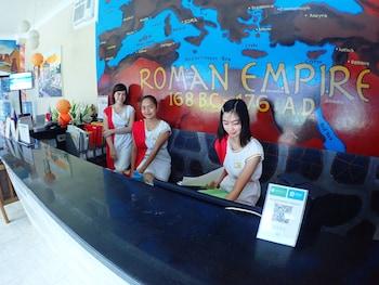 ROMAN EMPIRE PANGLAO BOUTIQUE HOTEL Reception