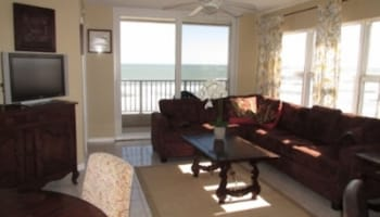 Direct Oceanfront  located on Traffic Free Beach - 2 BR 2 BA - South P