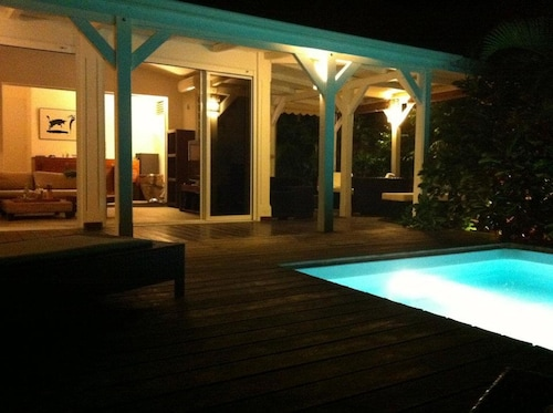 House With 2 Bedrooms in Saint François, With Private Pool, Enclosed G, Saint-François