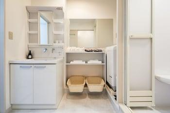 HANARE KYOTO GOJO HIGASHIYAMA RESIDENTIAL SUITE Bathroom Sink