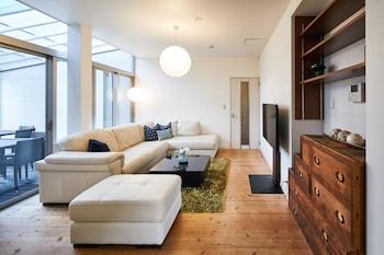 HANARE KYOTO GOJO HIGASHIYAMA RESIDENTIAL SUITE Living Area