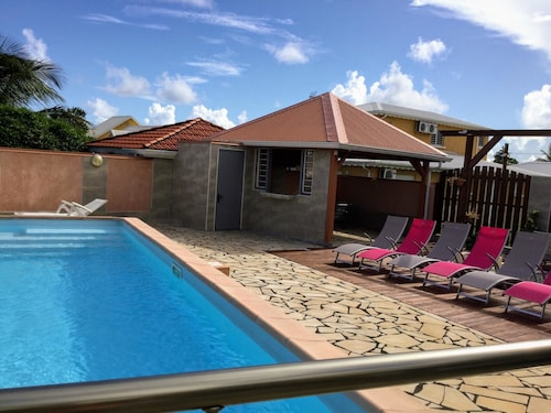 Apartment With 3 Bedrooms in Sainte-anne, With Pool Access, Enclosed G, Sainte-Anne