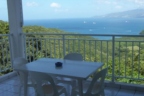 Studio in Anse D'arlet, With Furnished Balcony and Wifi - 4 km From th, Les Anses-d'Arlets