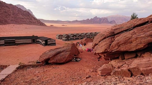 Wadi rum light camp, Quaira
