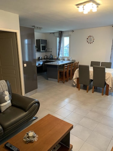 Apartment With 2 Bedrooms in Bagnolet, With Terrace and Wifi, Seine-Saint-Denis