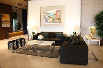 SANTORINI HOTEL Lobby Sitting Area
