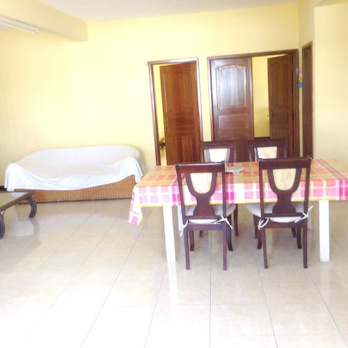Apartment With 2 Bedrooms in Trou aux Biches, With Furnished Garden an,