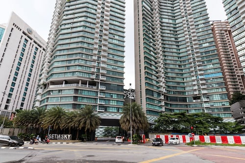 OYO 456 Home 2BR Setia Sky With KL Tower View from Balcony, Kuala Lumpur