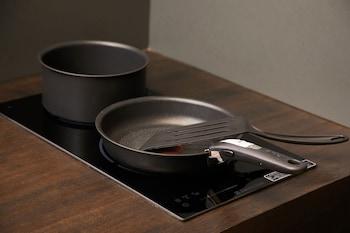 YADORU KYOTO HANARE KYOTO UMEYU NO YADO Shared Kitchen Facilities