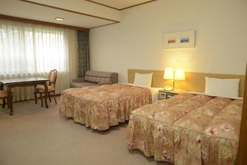 海を眺める洋室 禁煙(27.95平米)|28㎡|国民宿舎みやじま杜の宿